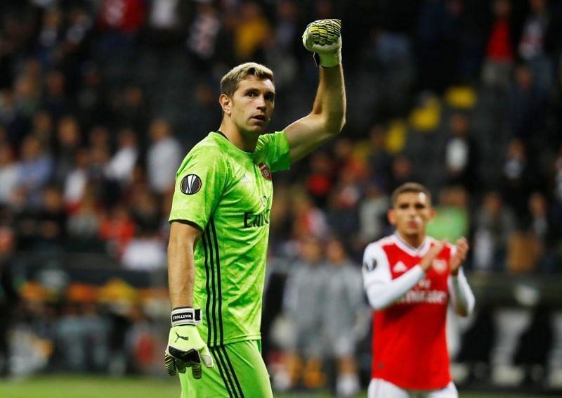 Emiliano Martinez has stepped up to the plate in the absence of Leno.