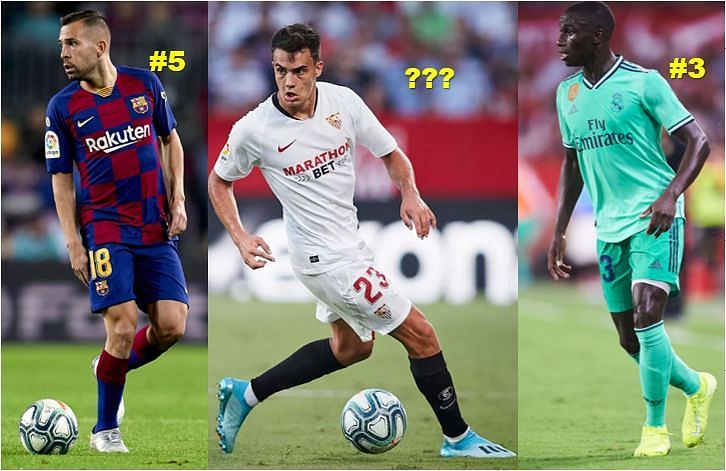 Who has been the best left-back in La Liga this season?