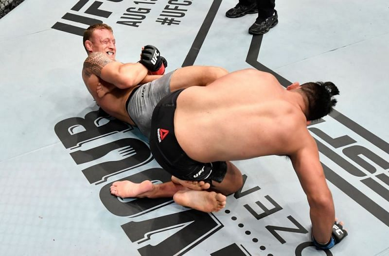 After his big win last night, Jack Hermansson should pursue a fight with Yoel Romero