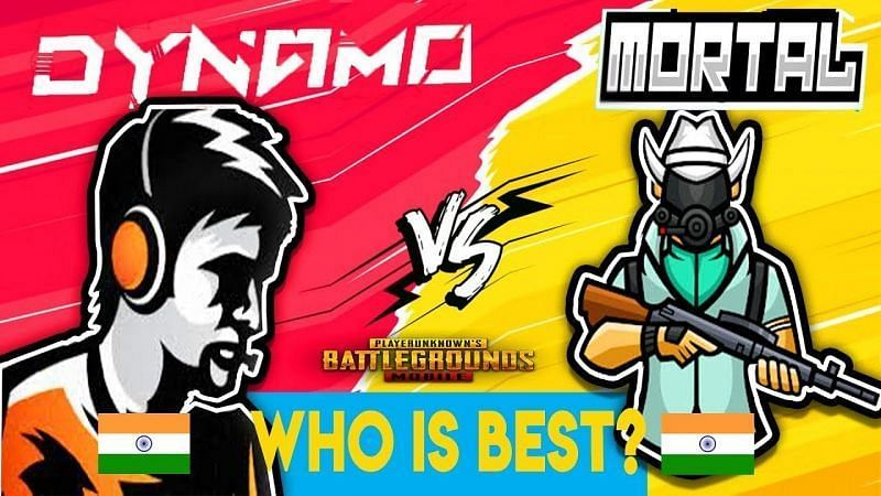 PUBG Mobile Mortal vs Dynamo (Image via YouTube)