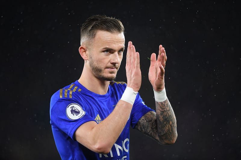 James Maddison has been in fine form for Leicester City