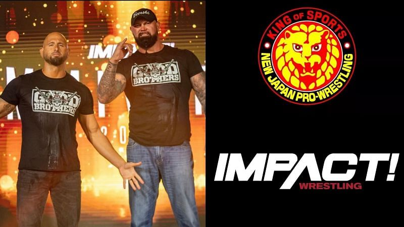 Gallows and Anderson are signed with IMPACT, but will be working with NJPW!