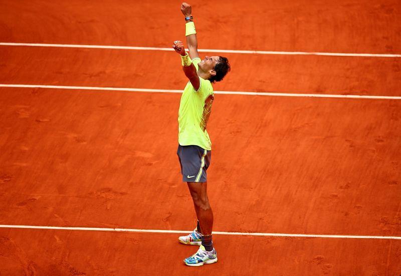 Rafael Nadal has impressive claycourt prowess