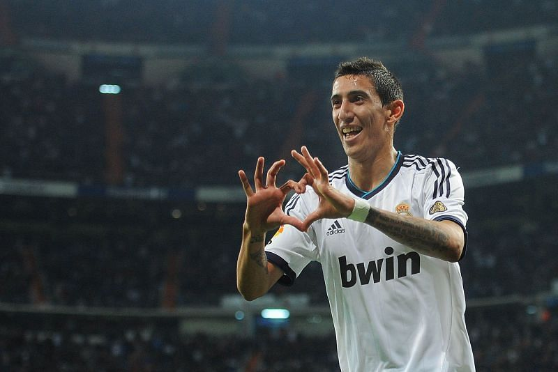 Angel Di Maria enjoyed one his best seasons with Real Madrid in the 2013-14 La Liga.