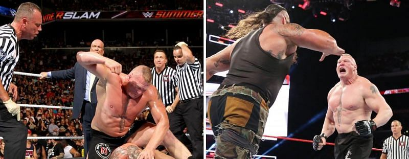 Brock Lesnar has had a number of real-life altercations with WWE stars
