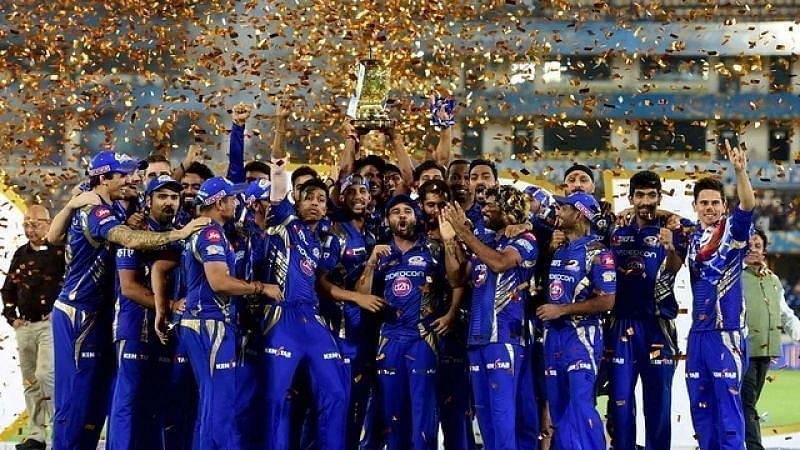 Mumbai Indians have won the IPL title on 4 occasions