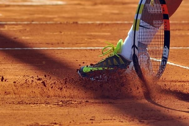Clay is different from the other tennis surfaces like grass and hardcourt