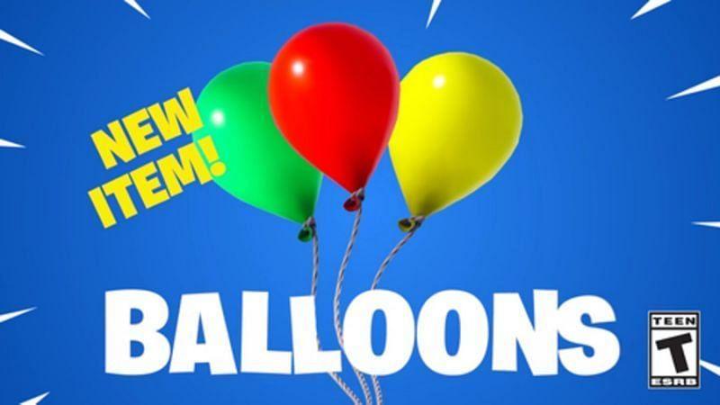 The Fortnite Balloons