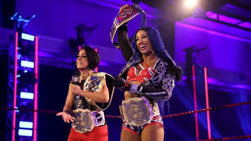 Update On Sasha Banks Winning WWE Raw Women's Championship 1