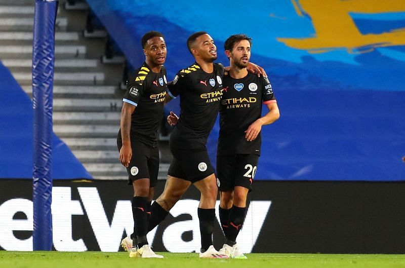 Sterling scored a hat-trick in a 5-0 City rout