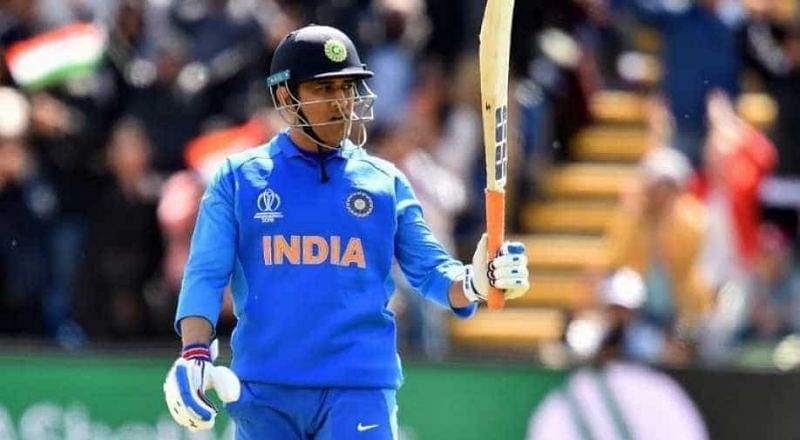 MS Dhoni last played for India in the 2019 World Cup semi-final against New Zealand