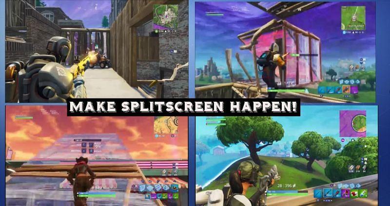 Fortnite Split Screen Options How To Set Up Split Screen In Fortnite Season 3 2020 Edition