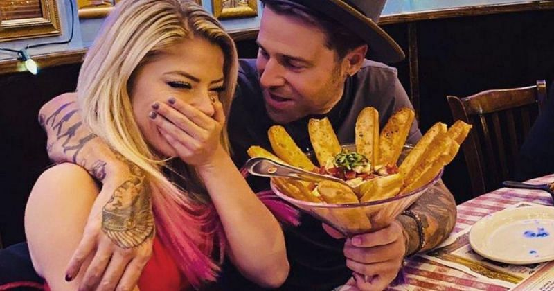 Alexa Bliss and her boyfriend Ryan Cabrera.