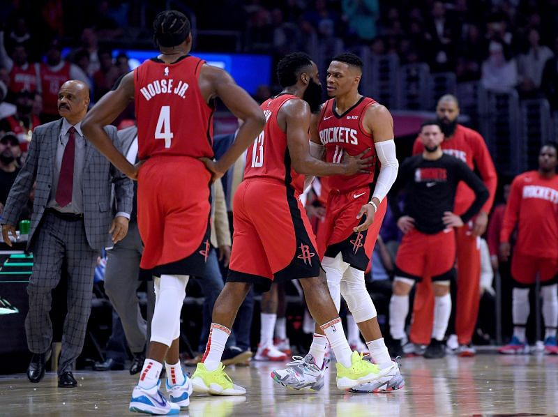 James Harden and Russel Westbrook need to be at their best for Houston Rockets to make a deep playoff r
