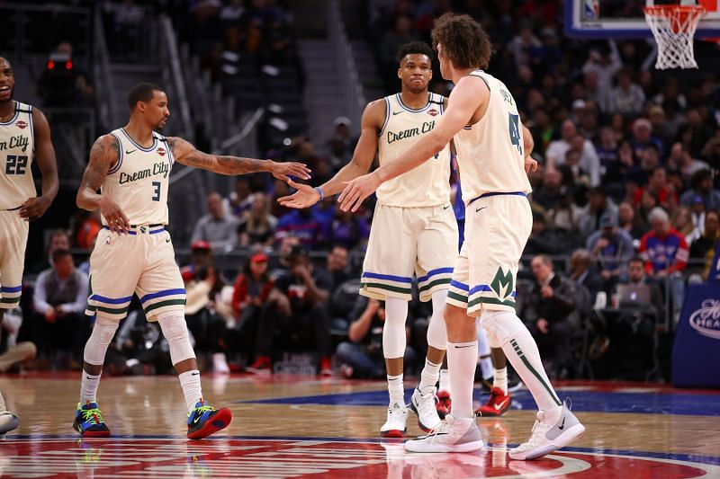 Milwaukee Bucks are favorites to win the NBA title this year
