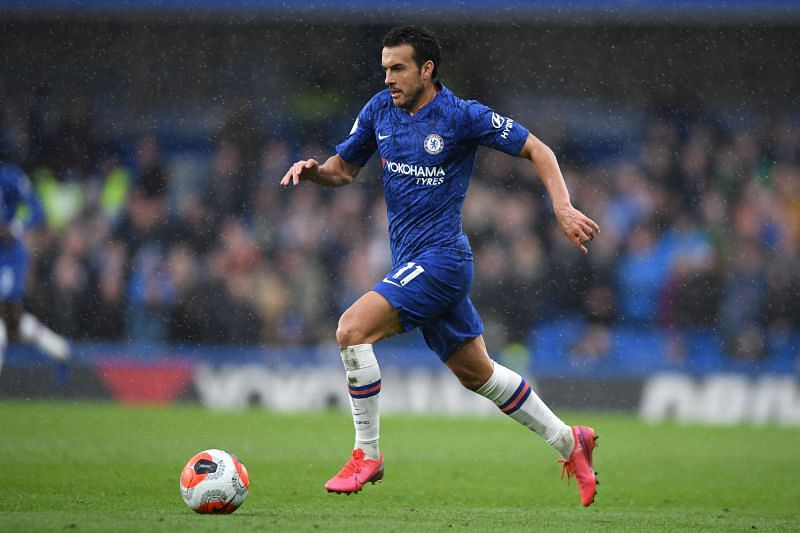 Veteran winger Pedro is set to depart Chelsea at the end of the season