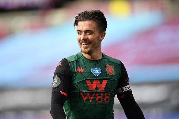 Grealish scored Villa