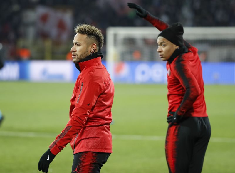 Neymar (left) and Kylian Mbappe have been influential figures at PSG.