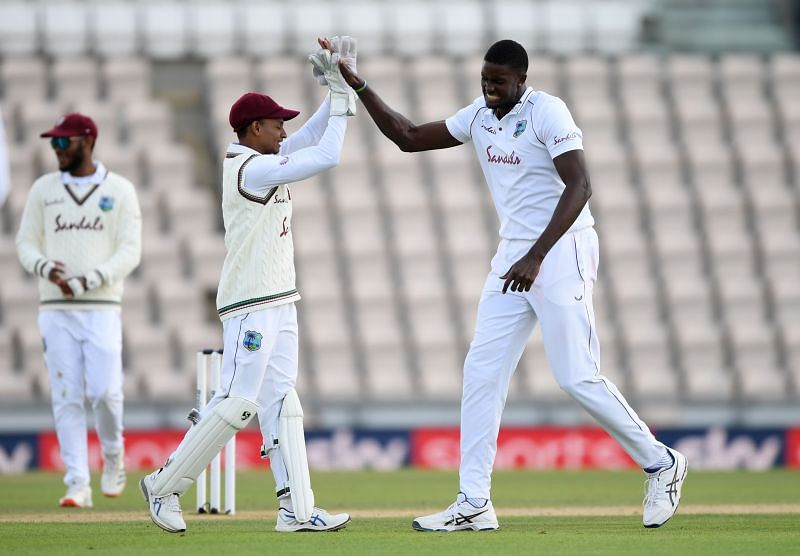Jason Holder moved up to second spot in the ICC Test Player Rankings after West Indies