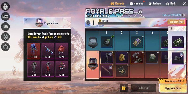 PUBG Mobile Season 14 Royale Pass End Date