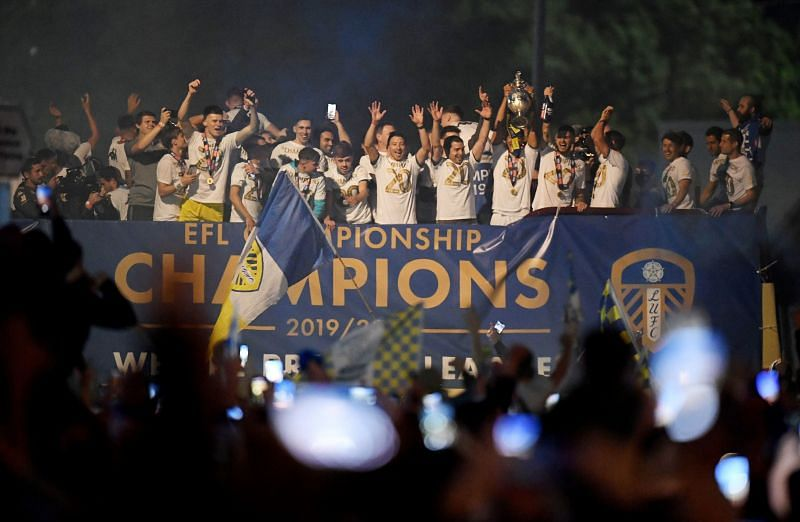 Leeds United have won the Championship