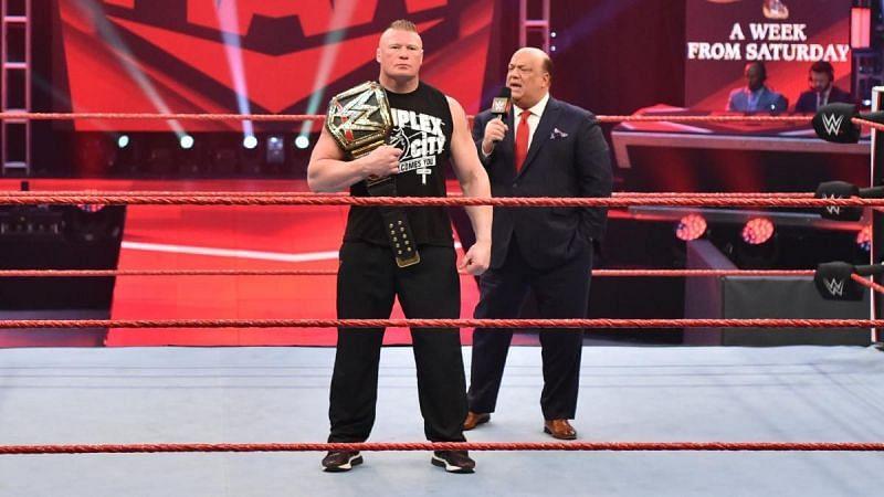 WWE के रेसलर ब्रॉक लैसनर