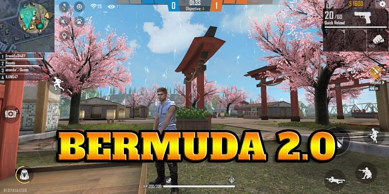 Bermuda Remastered in Free Fire