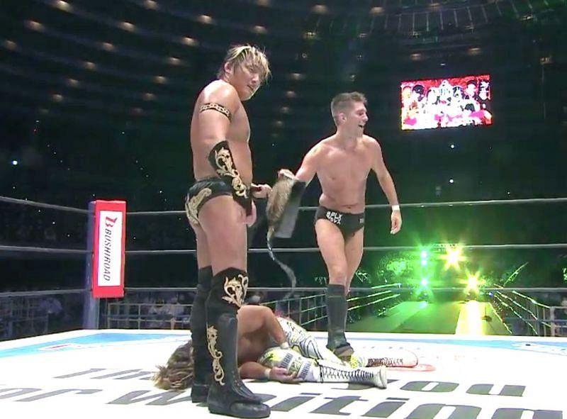 Taichi and Zack Sabre Jr.