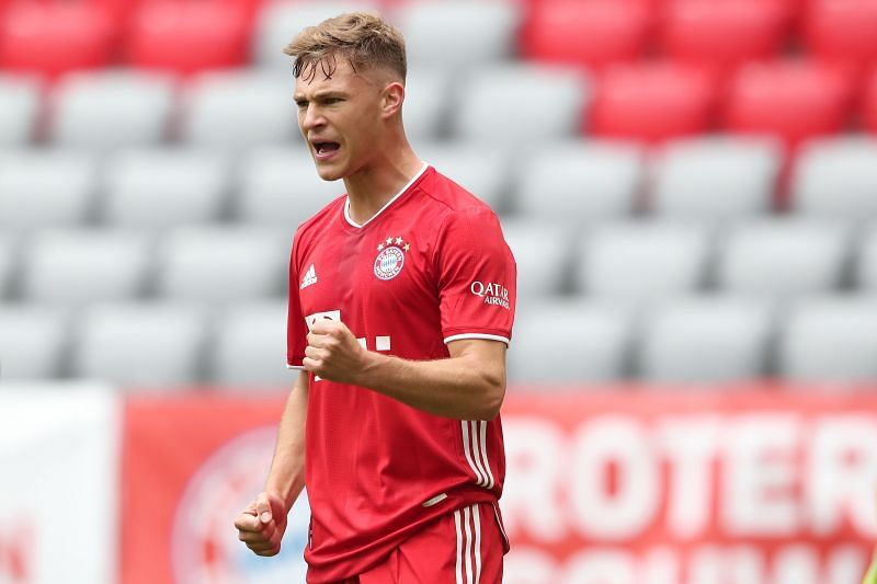 Joshua Kimmich has made a seamless transition from a right-back to a deep-lying playmaker.