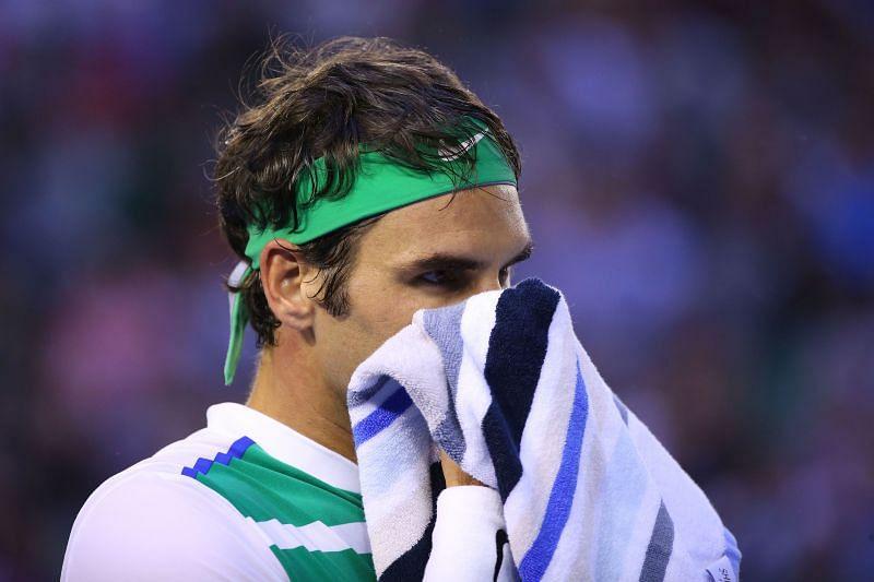 Roger Federer at Australian Open 2016