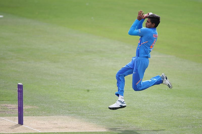 Kartik Tyagi impressed for the India U-19 side
