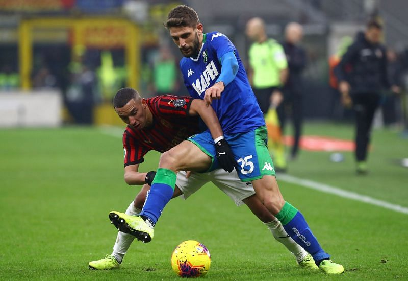 Matches between AC Milan and Sassuolo are tactically interesting