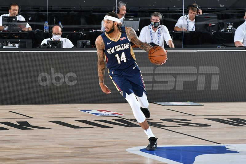 Brandon Ingram in action for the New Orleans Pelicans