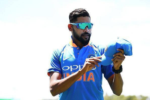 India paceman Mohammed Siraj.