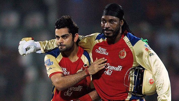 Virat Kohli and Chris Gayle formed a destructive duo in the IPL.