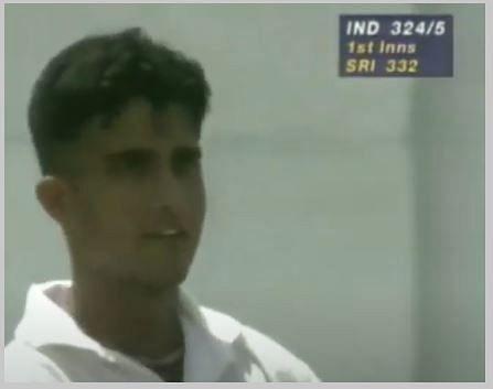 सौरव गांगुली ने यहाँ श्रीलंका के खिलाफ अपना पहला शतक लगाया था (Screenshot)