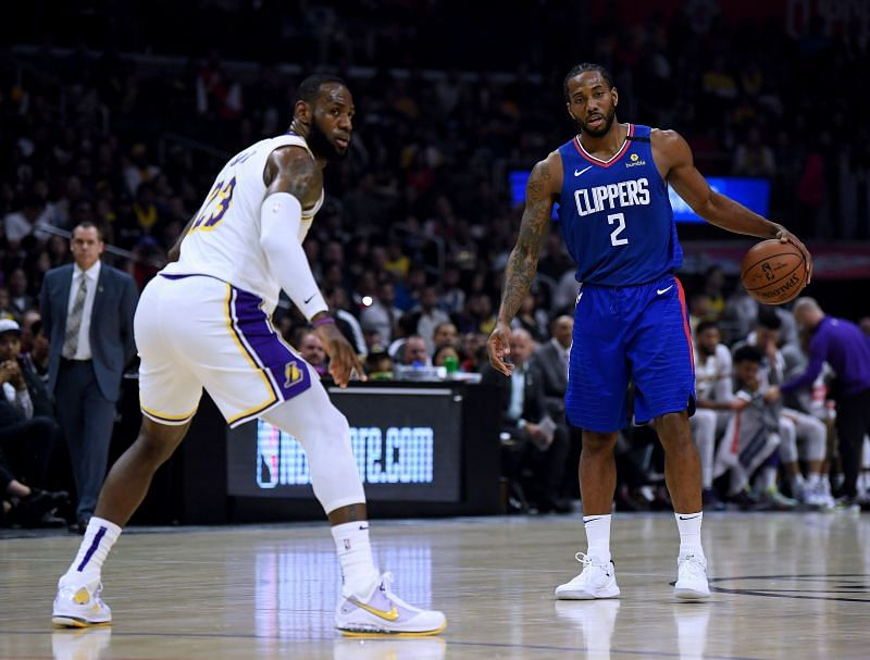 Kawhi Leonard and the LA Clippers will be taking on city rivals LA Lakers in their first NBA resumption game
