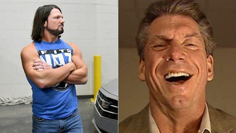 Vince McMahon pranked AJ Styles before WrestleMania 36