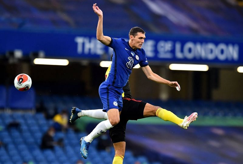 Andreas Christensen put in another solid shift for Chelsea.