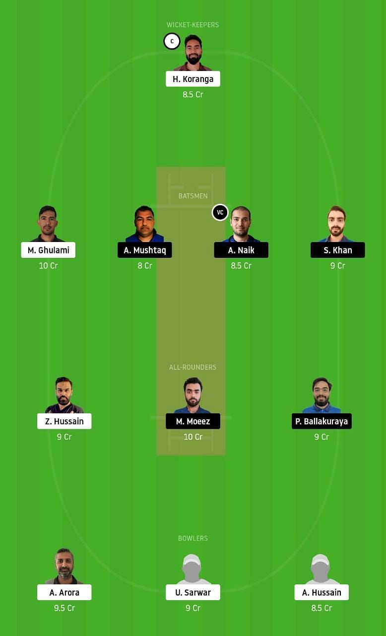 SSD vs LKP Dream11 Tips