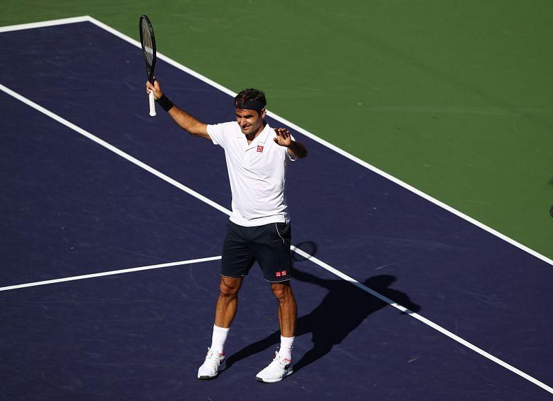 Roger Federer loves the sport of tennis
