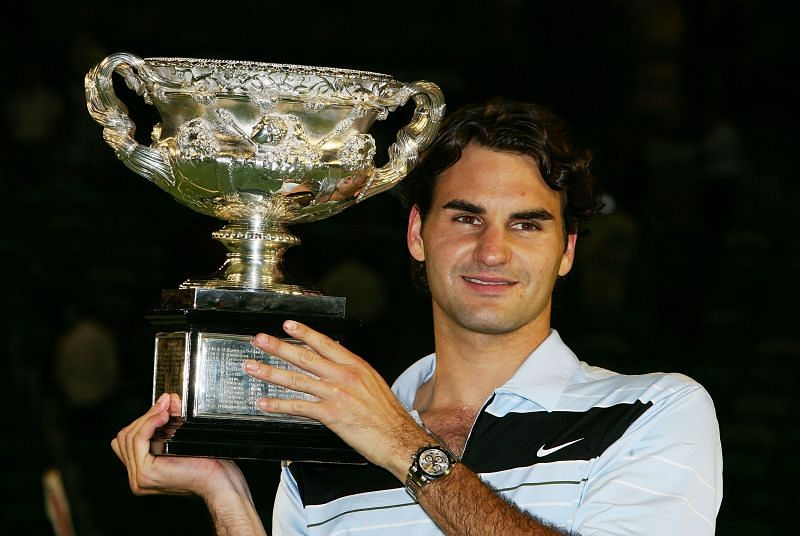 Roger Federer won the 2007 Australian Open without dropping a set