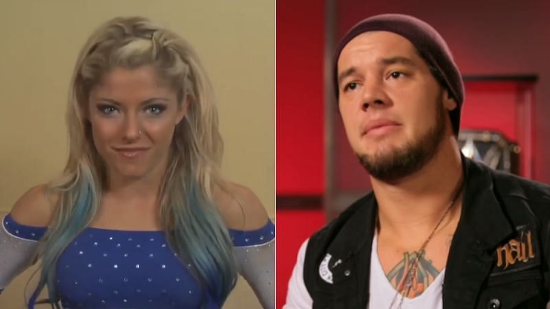 Alexa Bliss and Baron Corbin were part of the WWE NXT system