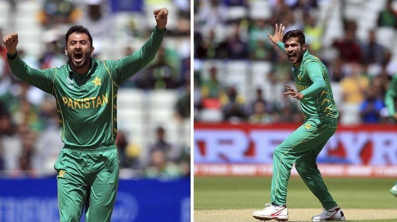 Mohammad Amir and Junaid Khan - Credits Deccan Chronicle