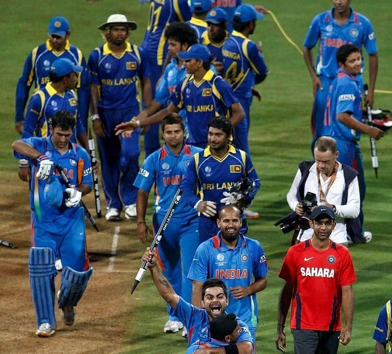 वर्ल्ड कप फाइनल जीतने के बाद भारतीय टीम