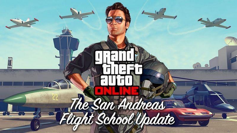 Flight School in GTA Online. Image: YouTube.