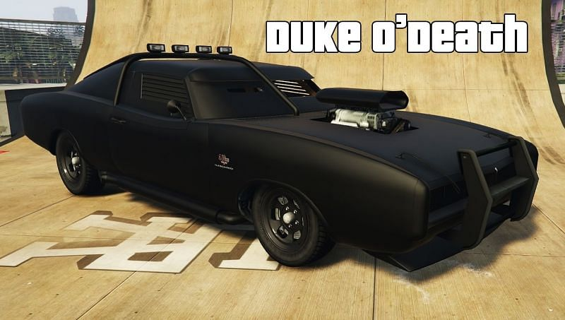 Top 10 fastest muscle cars in GTA 5