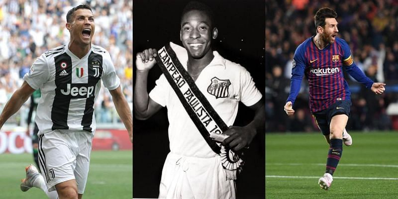 Pele has spoken about Lionel Messi and Cristiano Ronaldo on numerous occasions