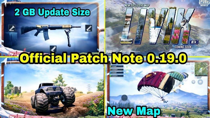 PUBG Mobile 0.19.0 Update Patch Notes (Image Credits: Infinity Gaming)