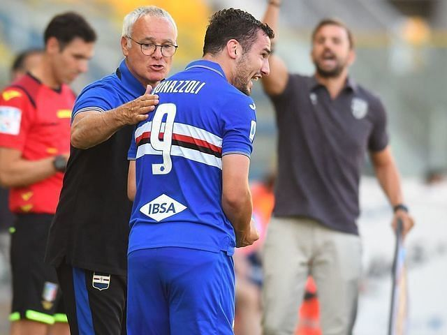 Claudio Ranieri brought Sampdoria back from the jaws of Serie A relegation.